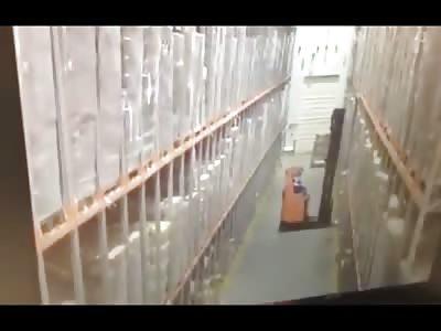 Freaky Work Accident