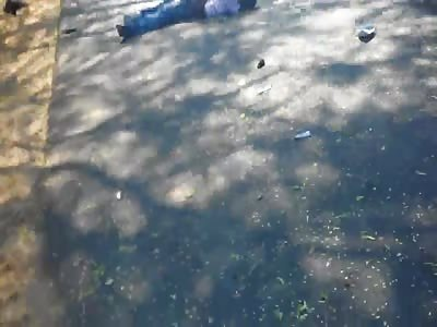 Limbless Ex Biker Lays Dead