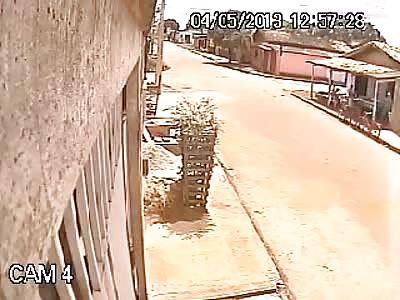 Machete fight in Brazil