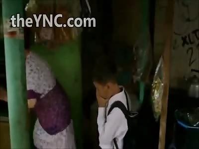 Kids Smoking in Indonesia...