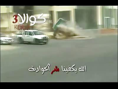 Arabs scariest fatal drift crash compilation 2013