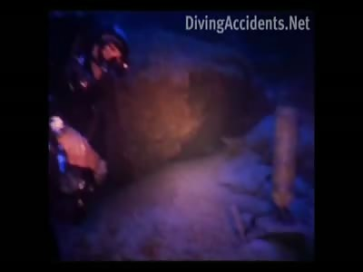 Dead Scuba Diver in the Blue Hole