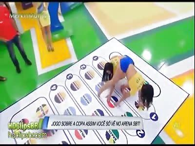 Brazilian Girls Playing Twister, Say No More
