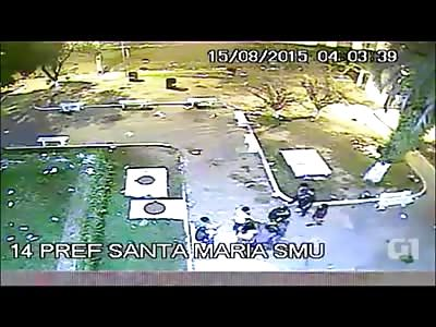 Murder with Pistol caught on CCTV