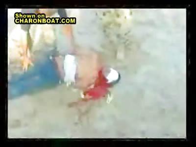 Beheading of Nepali hostage.