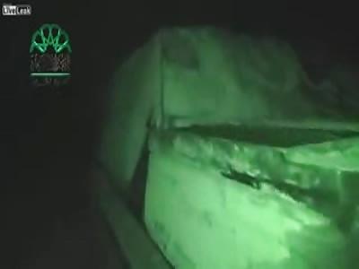 Massive suicide bombing against the main gate of Aleppo prison.