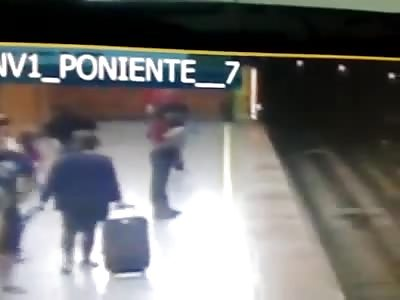 Suicidio Metro de Santiago, Estación Baquedano