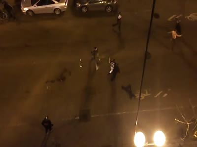 Drunken Americans and night mayhem