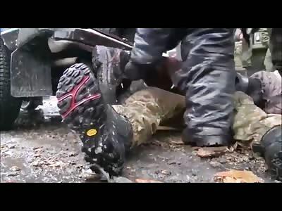 UKRAINIAN SOLDIER KILLED