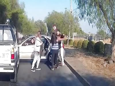 Golpiza a mujeres CHILE