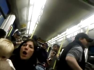 EMMA WEST! Racist Ignorance On A London Tram.