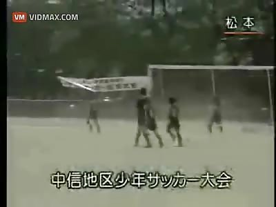 Tornado disturbes soccer game