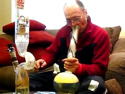 My Grandpa smokes WEED