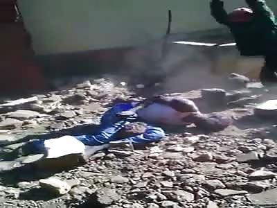Brutal lynching !