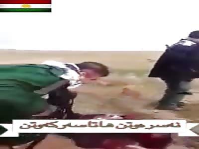 THE PESHMERGA FILES #1 (ISIS RAT SPEAKS HIS LAST PRAYER)
