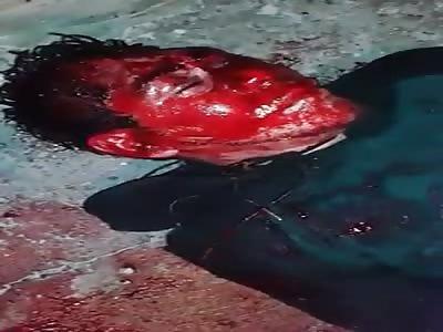 CRIMINAL BATHED IN BLOOD (BANDIDO BANADO EN SANGRE)