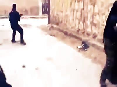 MUJAHIDEEN DYING IN SYRIA