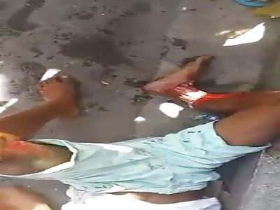 THIEF RECEIVED IMMEDIATE CARMA PUNISHMENT