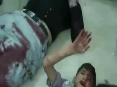 Emergency room in Syria