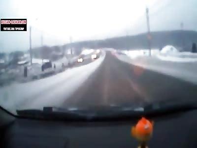 Car crash and assholes