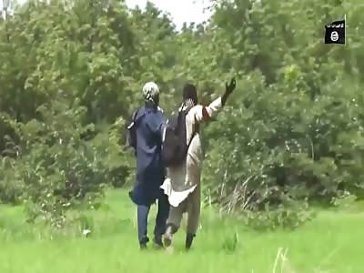 *GRAPHIC* ISIS Boko Haram Beheads Nigerian Soldier in Borno, Nigeria