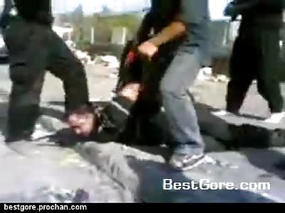 Decapitacion en Irak