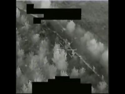 Apaches Pursue And Dominate Insurgent Mortar Team