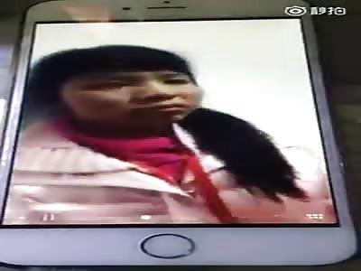 Chinese girl is beaten in school Part 2