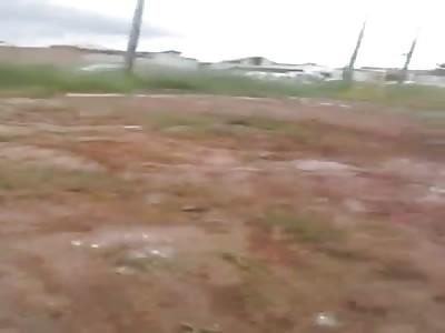 Man Got Shot During Football Match Brawl