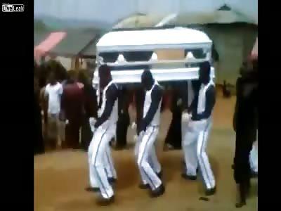The Weirdest Funeral Ever